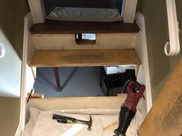 Before Stair Repair
